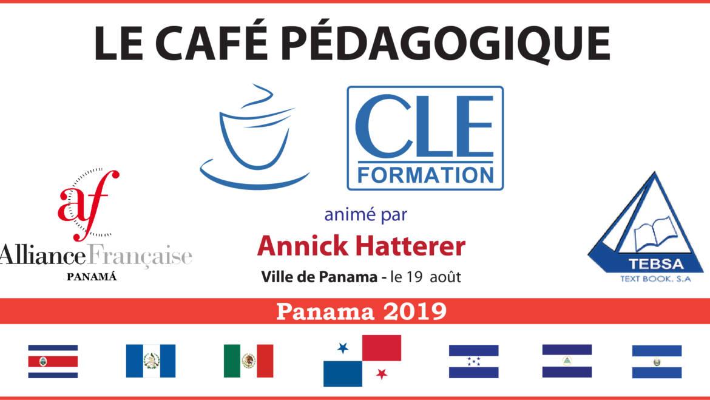 Café Pédagogique CLE Formation 2019 – Panamá, Pan.