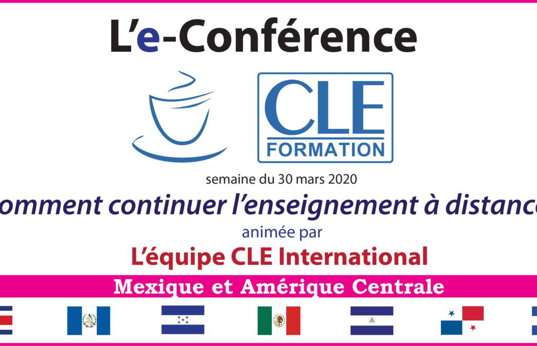 e-Conférence : Comment continuer l'enseignement à distance ?